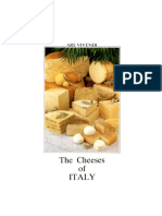 The Cheeses of Italy Book