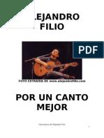 Cancionero de Alejandro Filio