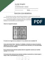 ADICIÓN CON RESERVA 2 BASICOS