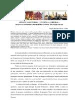ATENÇÃO VOLUNTÁRIA E CONSCIÊNCIA CORPORAL  - desenvolvimento e aprimoramento nos jogos teatrais