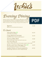 Archies Menu EVENING DININGfromjune09[1]