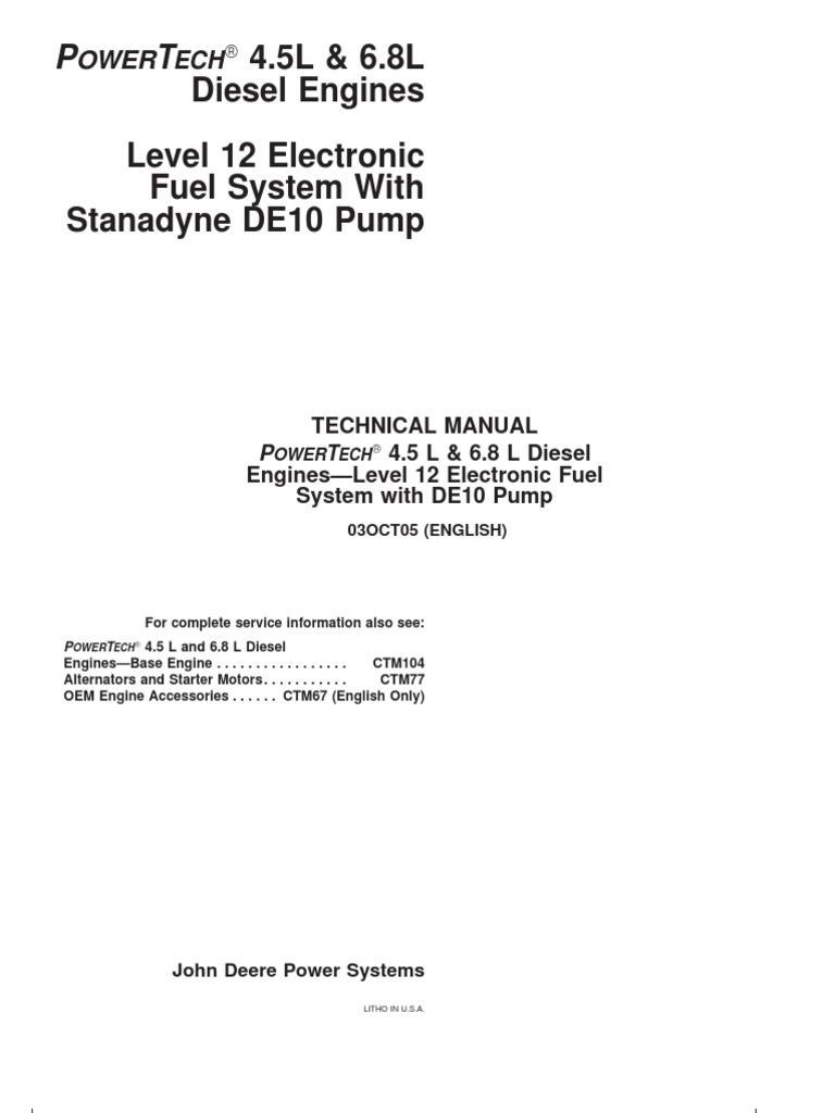Manual John Deere Bombas Iny Manual Guide