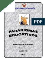 Paradigmas Educativos Rode Huillca Rhm