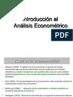 Tema 2 - Econometria - Fases Del Analisis
