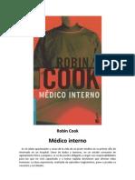 Robin Cook - 1972 - Médico interno