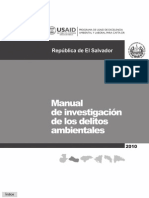 Manual de Investiacion de Delitos Ambientales