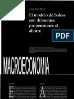 Modelo Solow