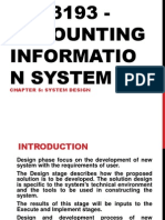 Dac3193 - Accounting Information System II