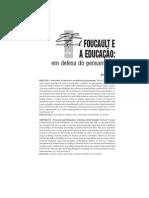 Foucault e a EDUCACAO - Art