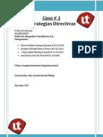 Caso # 1 de Comportamiento Organizacional Informe