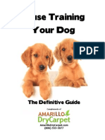 The Definitive Guide To House Training Your Dog