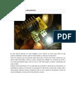 Driver Para LEDS de Alta Potencia