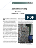 Recycling Careers