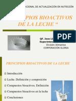 25. Principios Bioactivos de La Leche