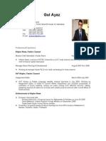 Gul Ayaz Resume-CV