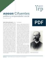 Abdón Cifuentes, influyente político y emprendedor social