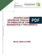 Libros Apuntes Sobre Urgencias Toxicologicas