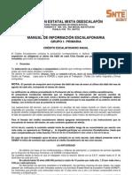 4. Manual de Inf. Escalafonaria - Grupo i Primaria