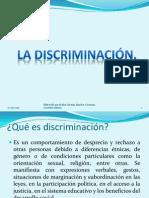 EL ROSTRO DE LA DISCRIMINACIÓN