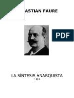 La Síntesis Anarquista (1928)