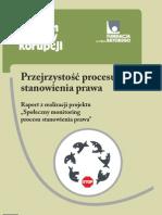 Proces Stanowienia Prawa Raport
