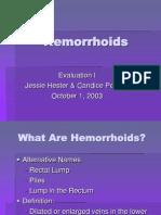 Hemorrhoids 2