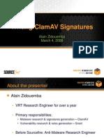 Clamav signatures