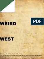 Weird West Rules 1.8