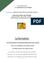 Presentation Cours Ecoute Active