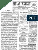 The Ukrainian Weekly 1938-49