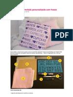 Almofadas Personalizadas Com Frases