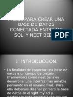 Conexion My SQL Neet Beens