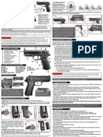 Beretta PX4 Storm Air Pistol Manual