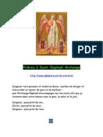 30286993 Prieres a Saint Raphael Archange