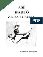 Friedrich Nietzsche - Así habló zaratustra