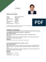 Curriculum Augusto - Concurso
