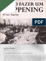 KAPROW, Allan - Como Fazer Um Happening