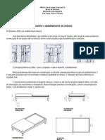 Desenho e detalhamento de móveis