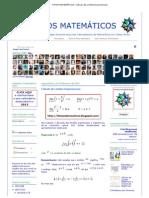 FATOS MATEMÁTICOS_ Cálculo de Limites Exponenciais