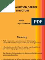 Job Evaluation & Description