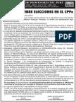 CPPe - Elecciones 2013 - UNE PERÚ