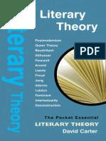 01 Literary Theory David Carter