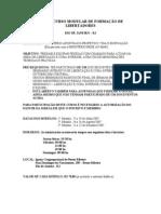 Curso Modular de Formação de Libertadores (CMFL) - Rio de Janeiro