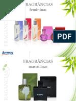 Informações sobre as Fragrancias da Amway