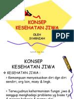 KONSEP  SEHAT JIWA