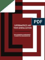 Superbimatrices and Their Generalizations, by W. B. Vasantha Kandasamy, Florentin Smarandache