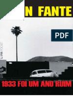 John Fante - 1933 Foi Um Ano Ruim