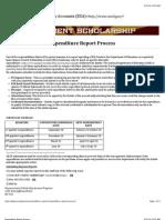expenditure report-due dates 2013-2014