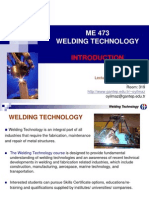 Welding Technology - Introduction