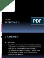 Actividad 2 E-Commerce y Tipos de Consumidor